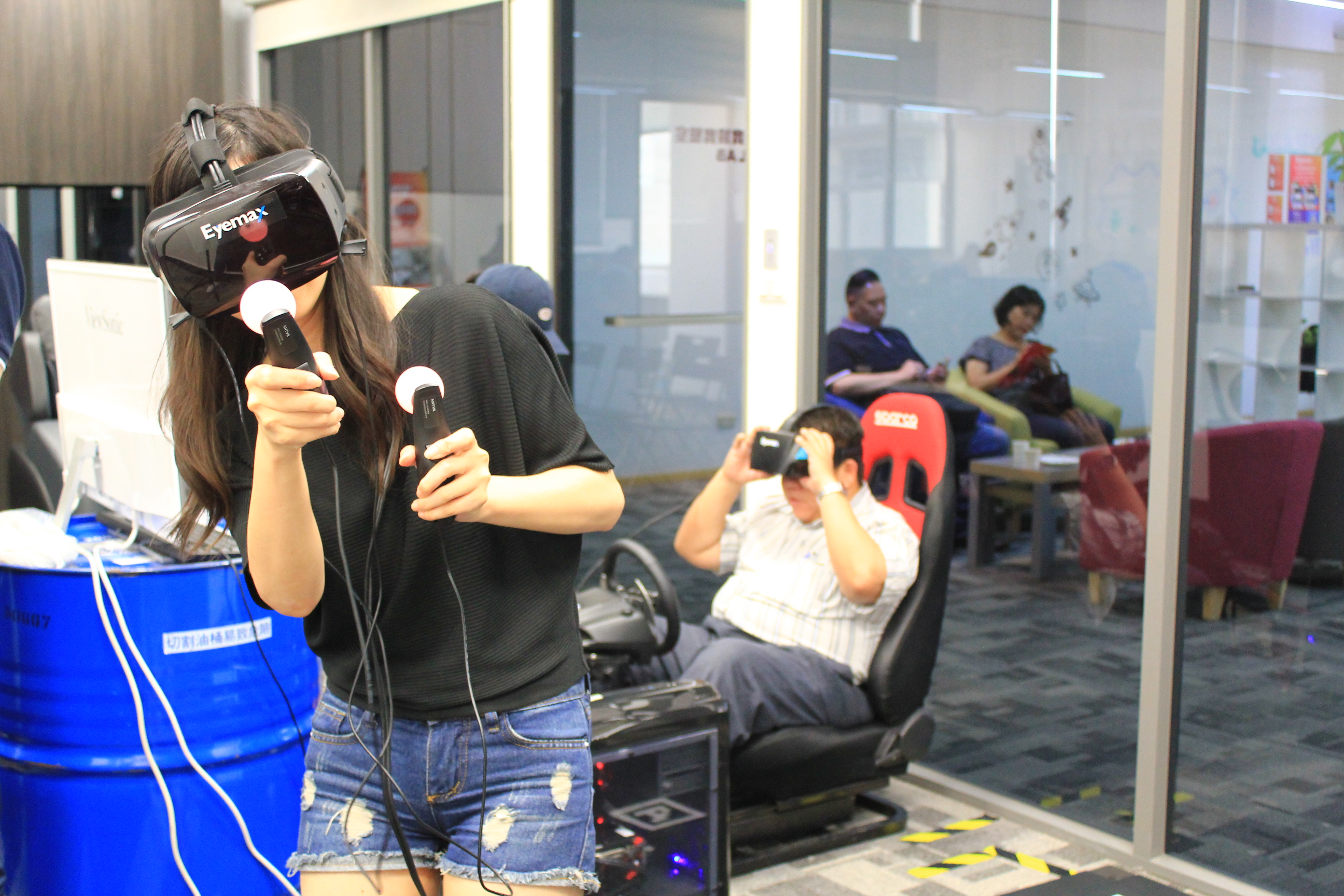 [ Events ] Taiwan launched the first VR innovation Campus officially opened!!